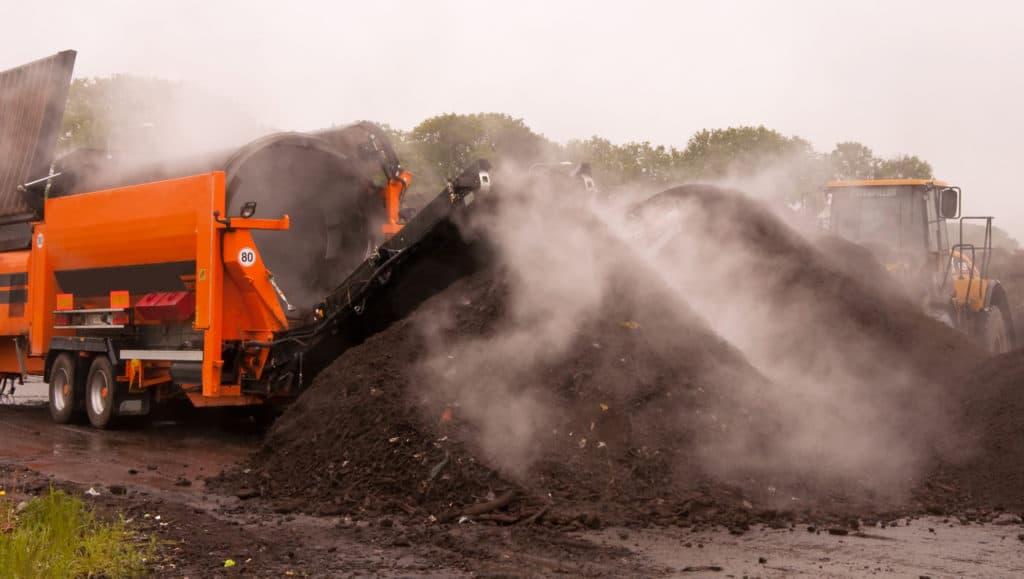 industrielle Kompostierung