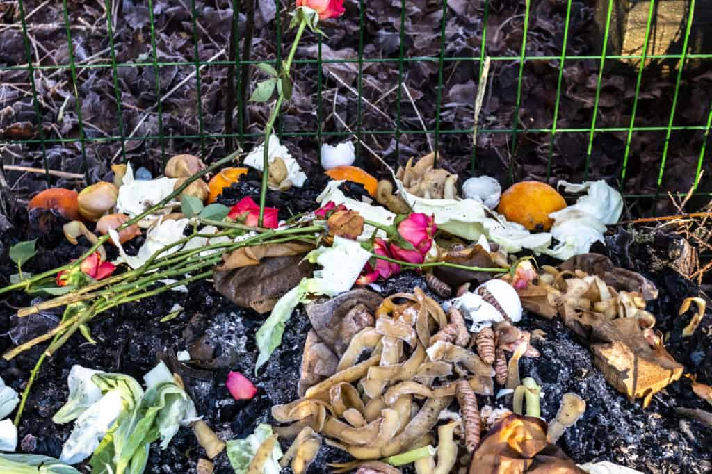 Komposter aus Metall
